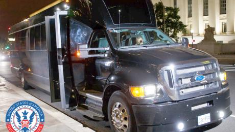 Luxury Tour Bus